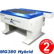 Гибридный лазерный гравер MG380H 25W/100W