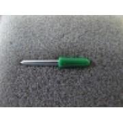 Нож для плоттеров 60° с зеленым колпачком 0.5